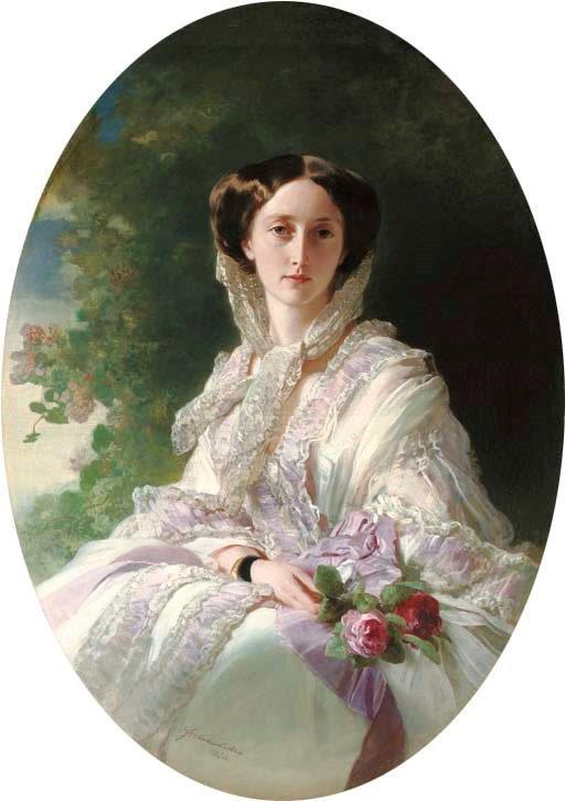 Cäcilie von Kahlden - Kronprinzessin Olga von Württemberg - Franz Xaver Winterhalter